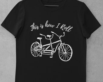 Funny Tandem Shirt, Cycling T- Shirt, Gift For Cyclist - CS1004 Classic Adult T-Shirt