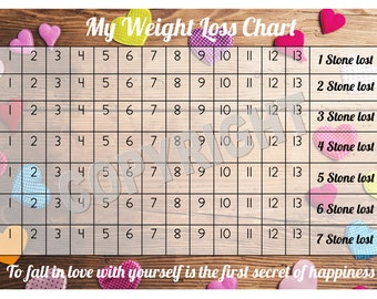 tracking weight loss chart