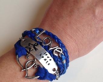 Love Heals, Colon Cancer Awareness Bracelet