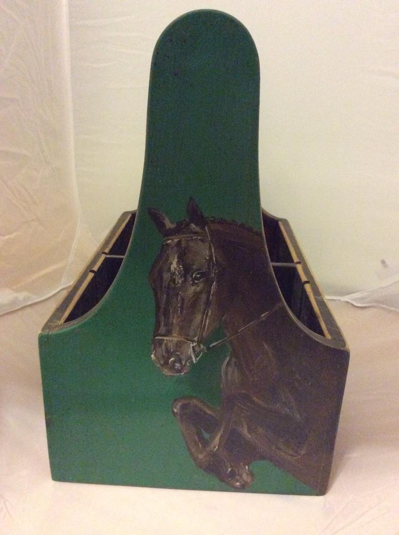 Custom painted tack box