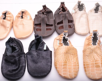 HOT SALE -50%  baby shoes, baby girl shoes, baby boy shoes, leather baby shoes, soft sole baby shoes leather, size 2-3, 3-4, 4-5 years