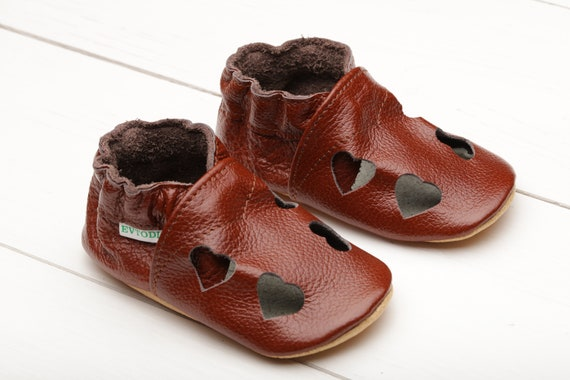 Brown Baby Shoes Leather Baby Shoes