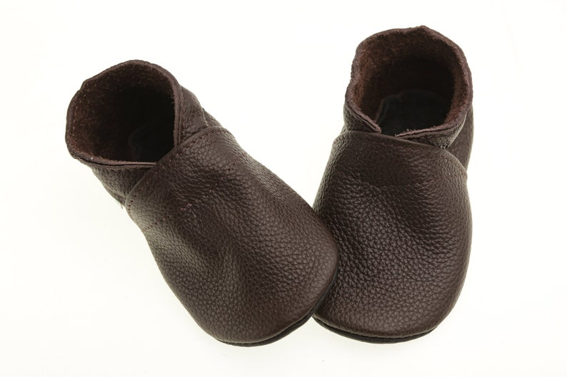 b682818dc12fe Dark Chocolate, Baby Shoes, Leather Baby Shoes, Soft Sole Toddler Shoes,  Baby Moccasins, Infant Shoes, Baby Booties, Baby Slippers, Evtodi