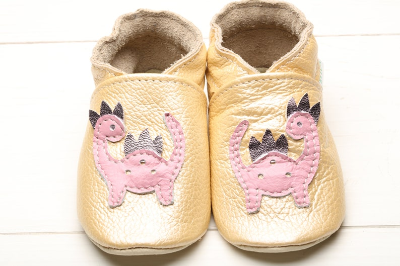 8bb151cbbb899 Baby Shoes, Leather Baby Shoes, Soft Sole Baby Shoes, Boys', Baby  Moccasins, Girls', Infant Shoes, Toddler Slippers, Dinosaur Shower Gift