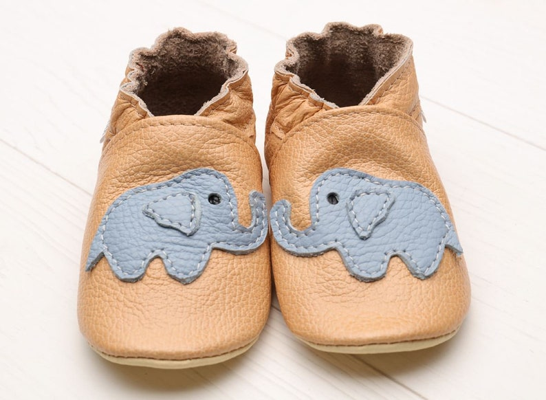 c561ffba9d0 Elephant Baby Shoes Leather Baby Shoes Soft Sole Toddler