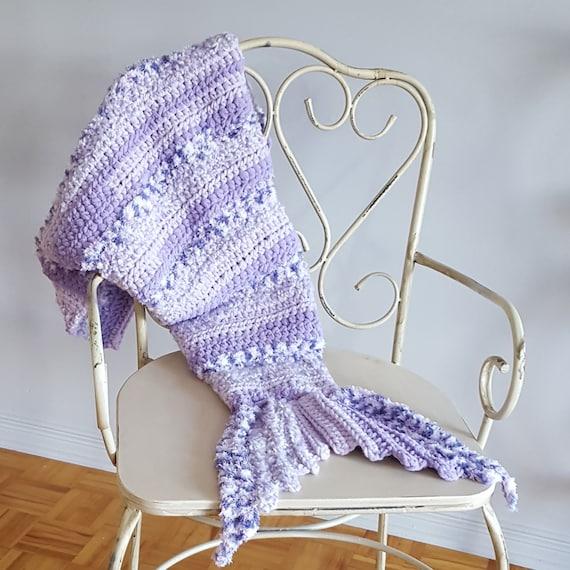 Kids Baby Toddler Handmade Crocheted Queue De Sirène Couverture * Vendeur Britannique