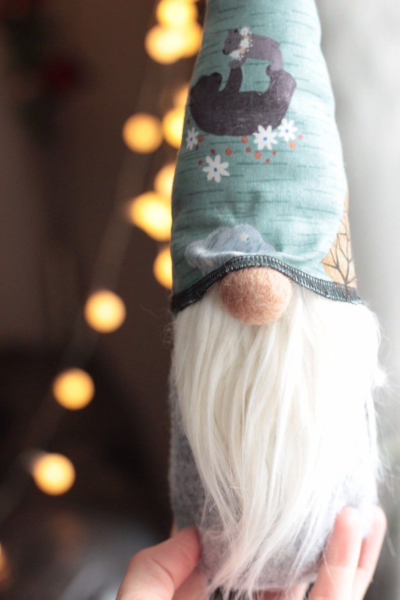 Fall/Winter Woodland Gnome Nursery Decor Nordic Home Tomte image 0