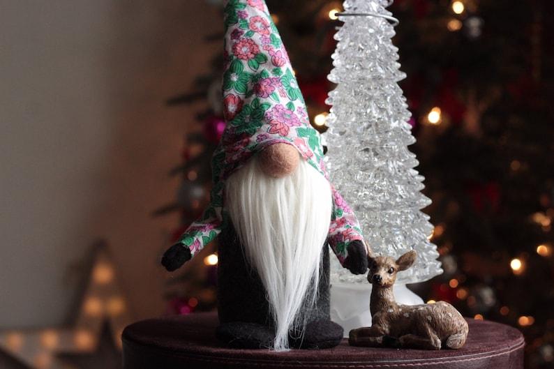 Gnome Tomte Adorable Gnome Holiday Gnome Nordic Santa image 0