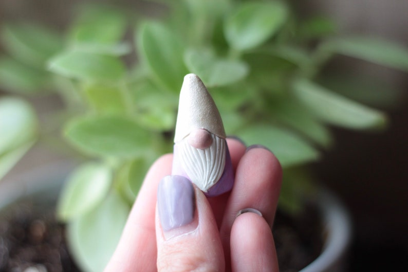 Gnome Miniature Art Woodland Gnome Fairy Garden Custom Game image 0