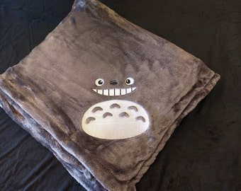 Totoro Inspired Blanket