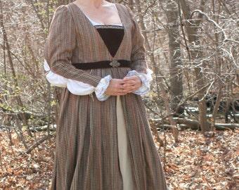 Italian Renaissance Gown, 15th Century SCA LARP court garb Ready to ship