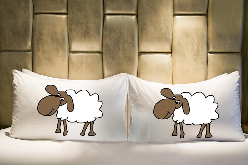 Kid/'s Bedding Funny Pillowcase Sheep Pillowcase; Animal Lover Gift Youth Bedding Farm Animal Gift