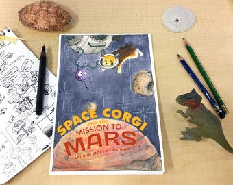 Space Corgi and the Mission to Mars