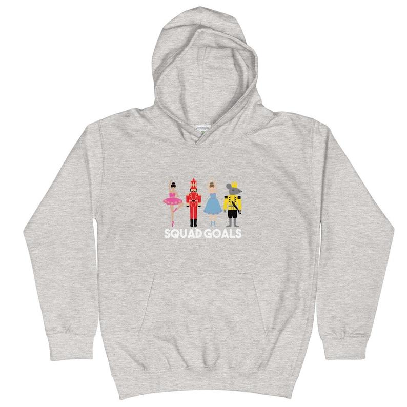 Nutcracker Squad Goals Kids Hoodie