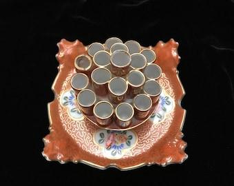 Ceramic cigaret holder