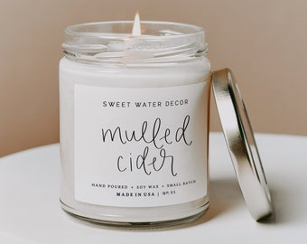 Mulled Cider Candle Etsy