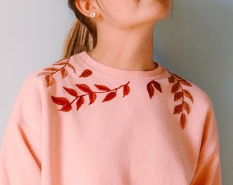 Floral Abstract Cat Art Fashion Hoodie Sweatshirt Jumper Men Women Unisex 1707