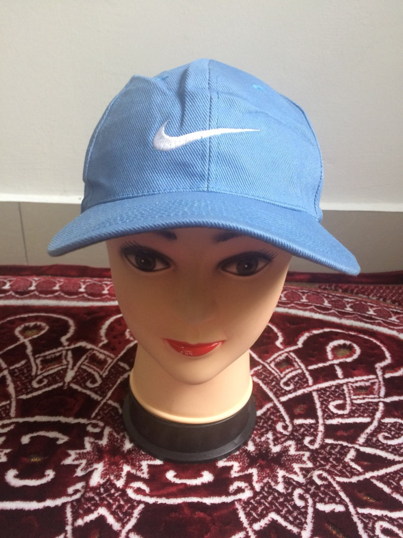 ad084123 Vintage Nike Sports Truckers Cap Baseball Golf Hip Hop   Etsy