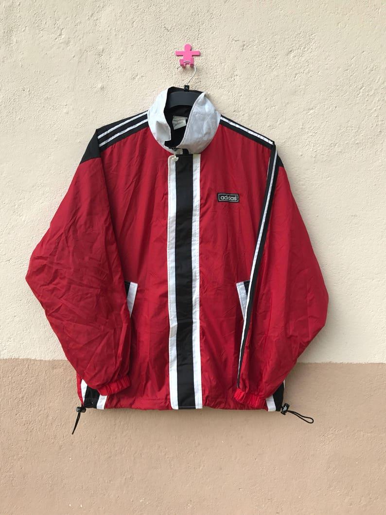 252d6a963 Vintage Adidas RUN DMC Windbreaker Sweater Hip Hop Legends | Etsy