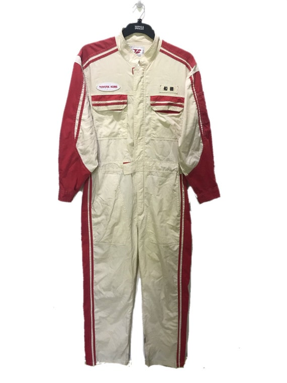 Vintage Toyota Corolla Tecno  Coverall Japan Autom