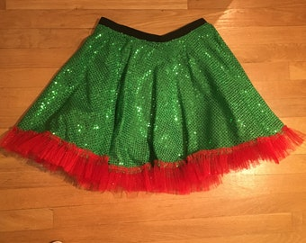 Sparkle circle running skirt