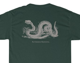 a08c7045d5b2 Magic & Science Mashup Snake T-Shirt - Scientific Wizards School House  Mascots in