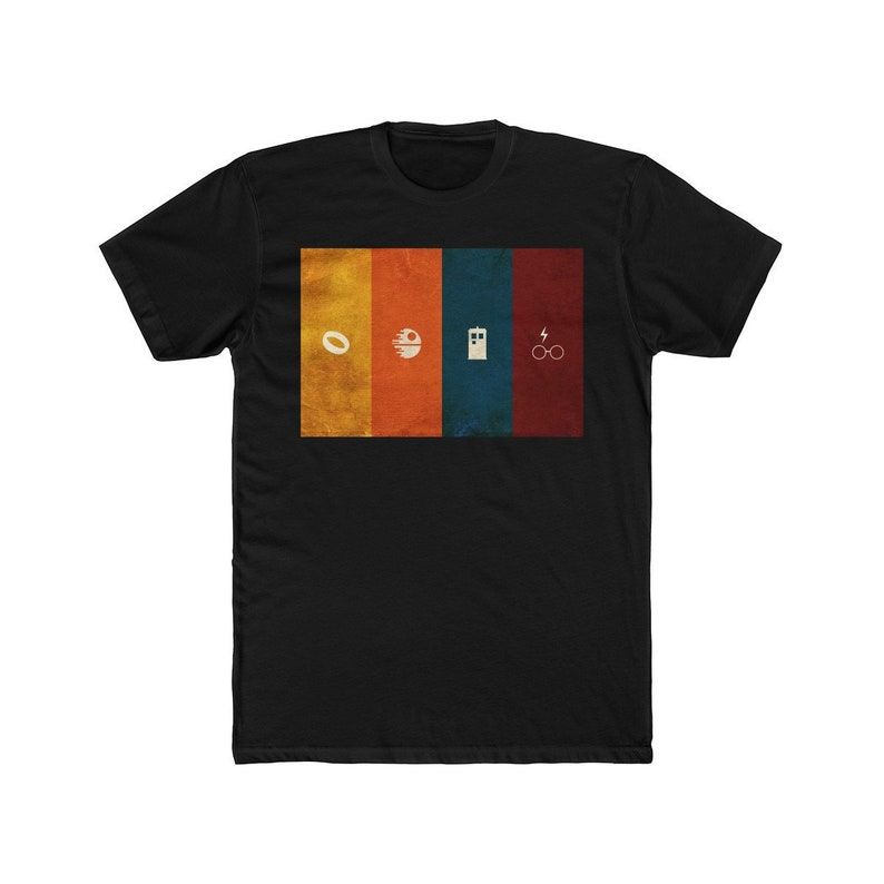 e7d712dc4069 Geeky T-Shirt Fantasy & Sci-Fi Nerdy Minimalist Geek   Etsy