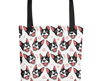 Boston Terrier All Smiles Tote bag