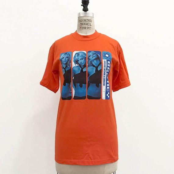 00s Vintage Britney Spears 2002 Tour shirt - image 2