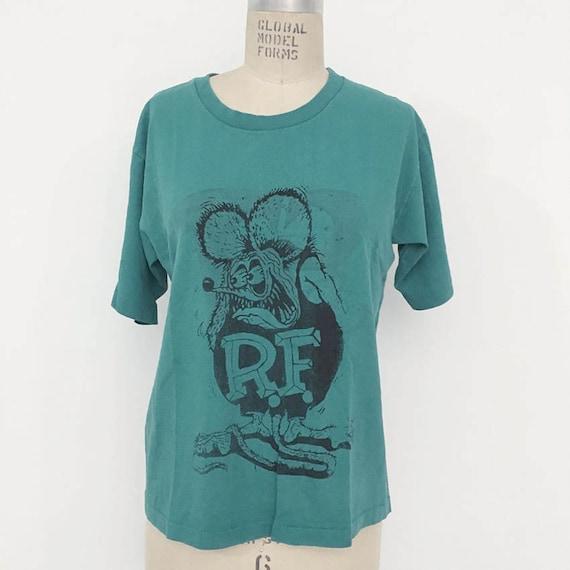 80s Vintage Rat Fink T-shirt - image 1