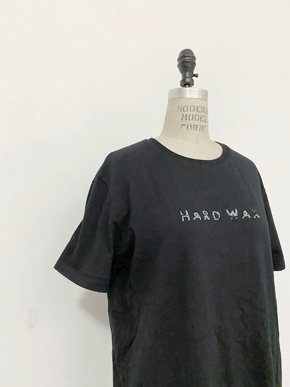 00s Vintage Hard Wax records shirt : Basic Channel