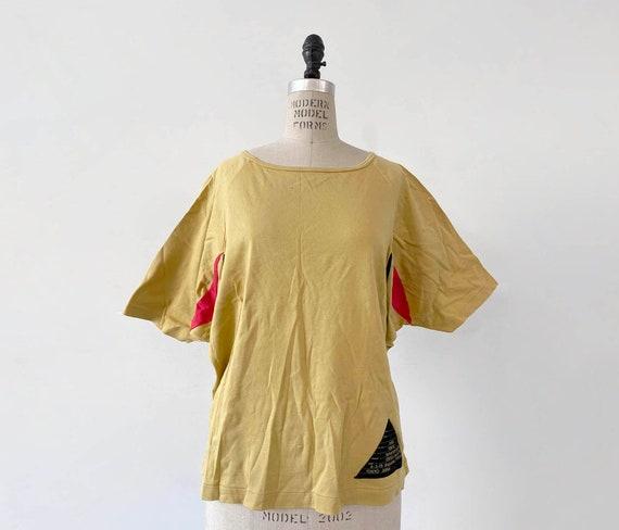 80s Vintage Kansai Yamamoto batwing top