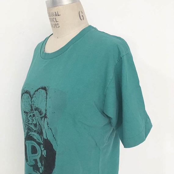 80s Vintage Rat Fink T-shirt - image 2