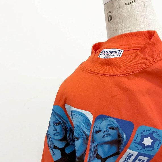 00s Vintage Britney Spears 2002 Tour shirt - image 4