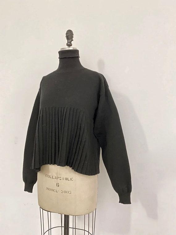 80s Vintage Patrick Kelly Pleats Knit sweater
