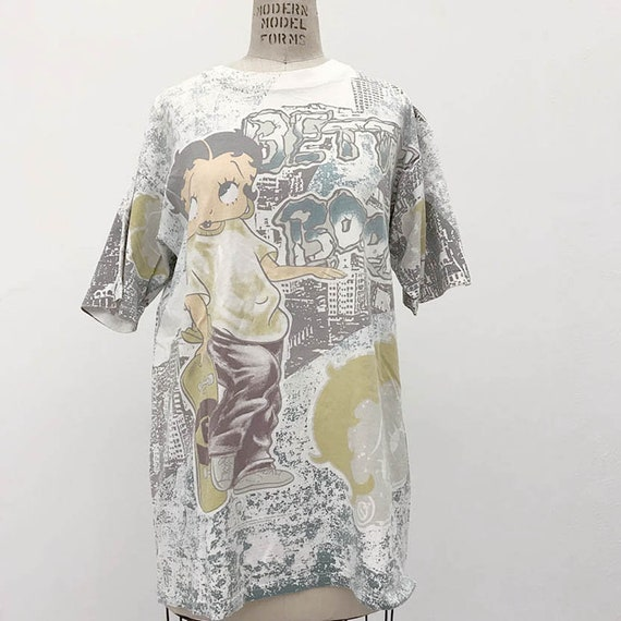 90s Vintage Skate Betty Boop T-shirt