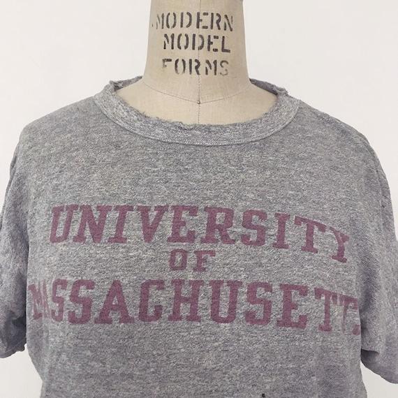 60s Vintage Champion University of Massachusetts T