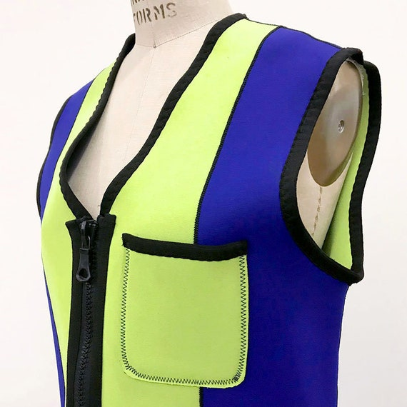 90s Vintage MOSCHINO Wet suit vest