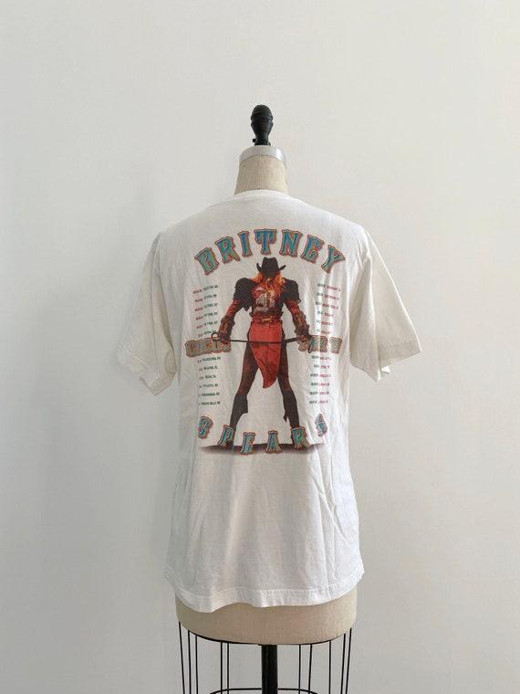 00s Vintage Britney Spears tour T-shirt - image 3