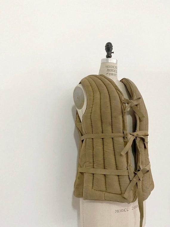 40s Vintage Tapat Co. Padded Vest
