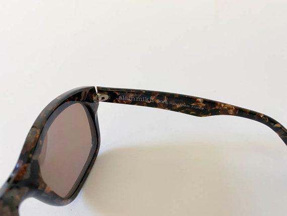 80s Vintage Alain Mikli Tortoise Sunglasses w Cas… - image 4