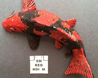 Small Red Koi M