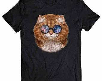 Caturn Saturn Raum-Katze Sweatshirt