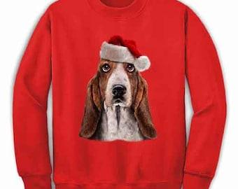 Basset Hound Sweater Etsy