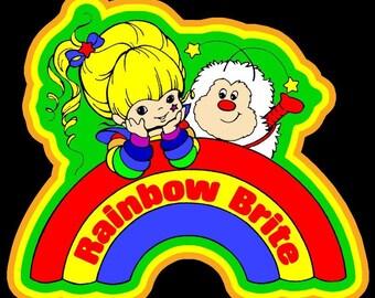 0c8e6b38834 Rainbow Brite Vintage Image T-shirt