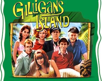 Vintage Gilligan's Island Custom Made Image T*shirt