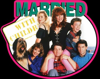 Married With Children Vintage Image T-shirt