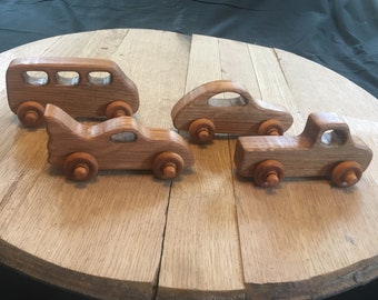Barrelhead Racers - Wooden Cars