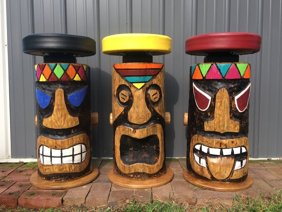 Excellent Tiki Barstool Gmtry Best Dining Table And Chair Ideas Images Gmtryco