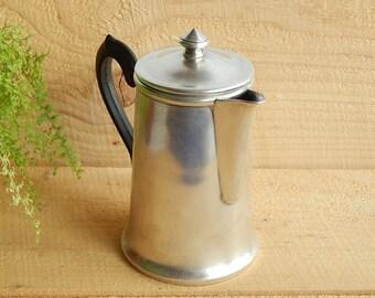 Kettle Soviet Metal Kettle Tea Pot Vintage Kettle For Tea Party Old Kettle Antique Steel Kettle Tea Pot 1970's